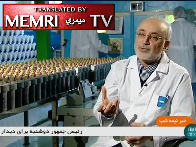 Head of Iranian Atomic Energy Organization Ali Akbar Salehi: Our New 20%-Enriched Nuclear Fuel Increases Reactor Production, Can Fuel Future Reactors